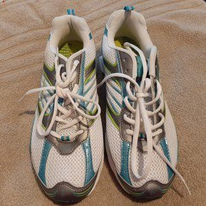 Womens LA Gear Athletic Shoes Size 10 Blue/Green